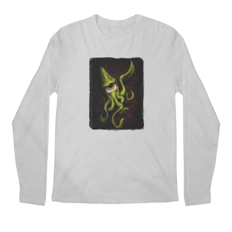 eye of cthulu Men's Regular Longsleeve T-Shirt by the twisted world of godriguezart
