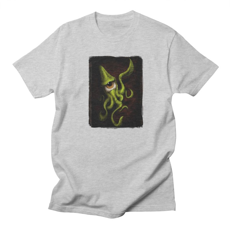 eye of cthulu Men's Regular T-Shirt by the twisted world of godriguezart