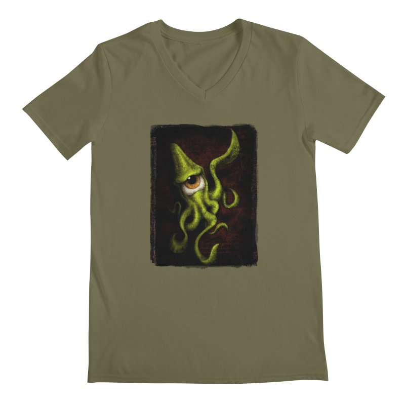 eye of cthulu Men's V-Neck by the twisted world of godriguezart