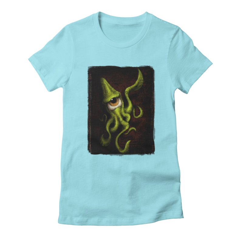 eye of cthulu Women's T-Shirt by the twisted world of godriguezart