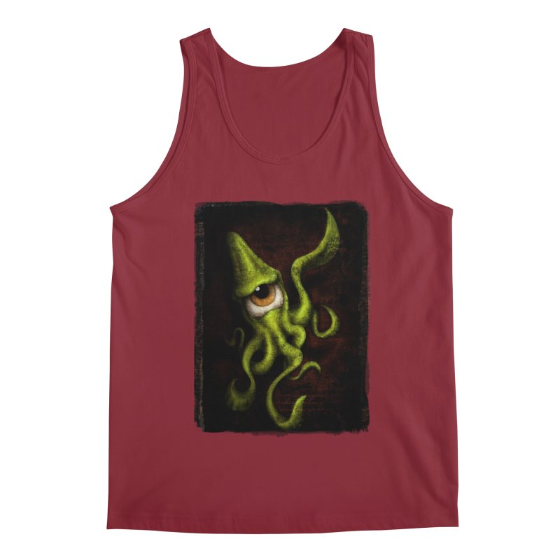 eye of cthulu Men's Tank by the twisted world of godriguezart