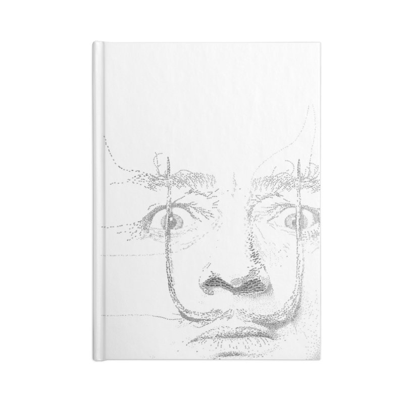 i am not mad! - salvador dali Accessories Lined Journal Notebook by the twisted world of godriguezart