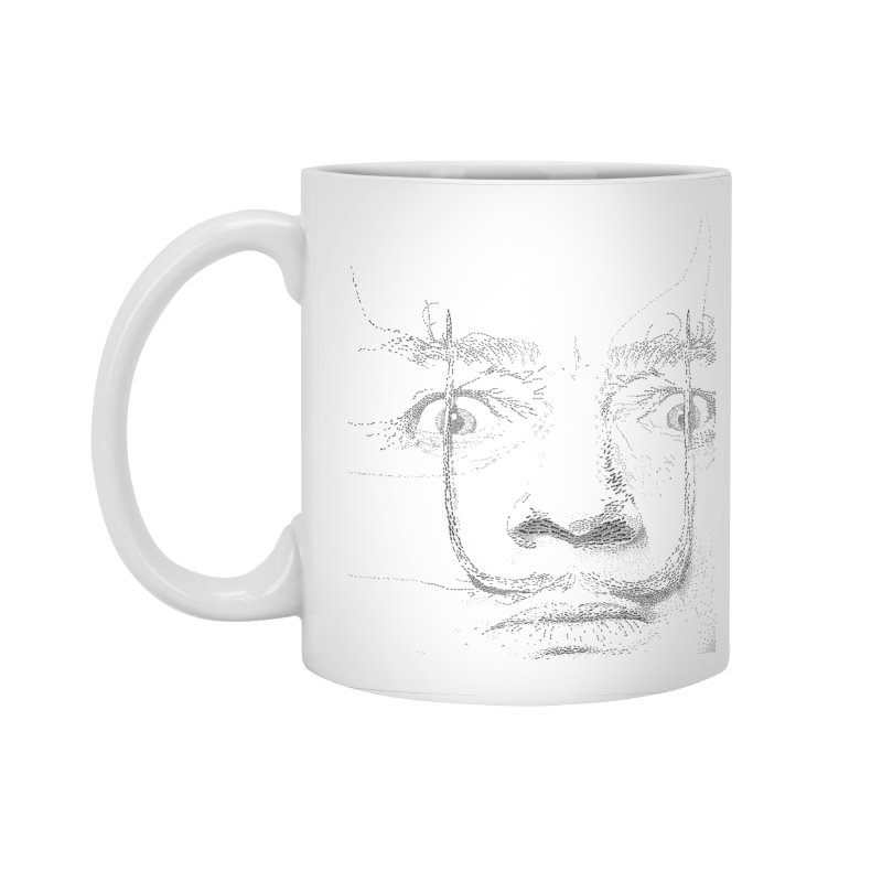 i am not mad! - salvador dali Accessories Mug by the twisted world of godriguezart