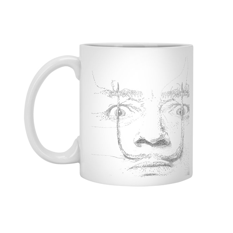 i am not mad! - salvador dali Accessories Standard Mug by the twisted world of godriguezart