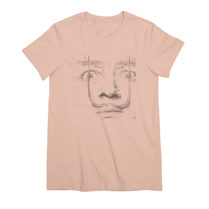 i am not mad! - salvador dali Women's Premium T-Shirt by the twisted world of godriguezart