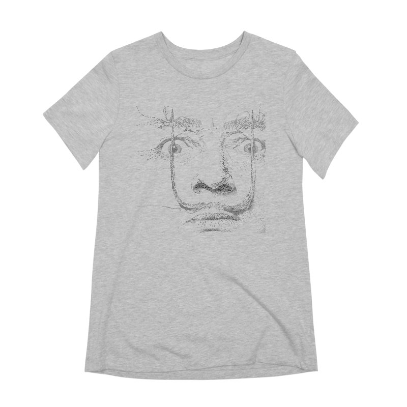 i am not mad! - salvador dali Women's Extra Soft T-Shirt by the twisted world of godriguezart