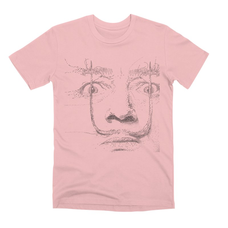 i am not mad! - salvador dali Men's Premium T-Shirt by the twisted world of godriguezart