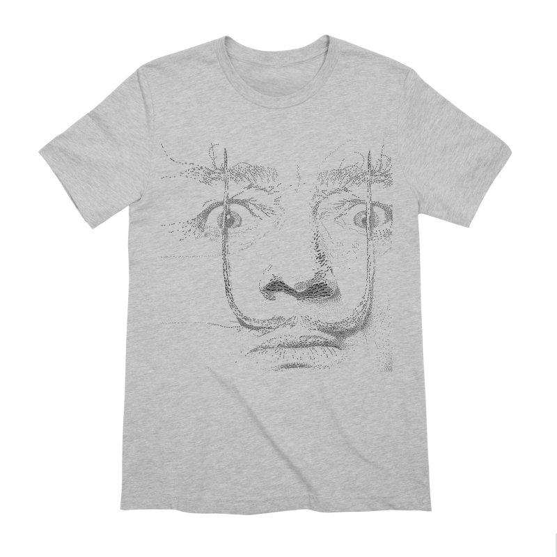 i am not mad! - salvador dali Men's Extra Soft T-Shirt by the twisted world of godriguezart