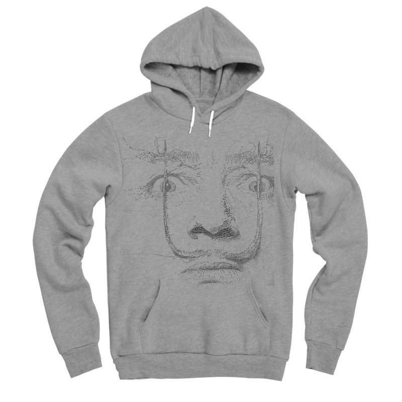 i am not mad! - salvador dali Men's Sponge Fleece Pullover Hoody by the twisted world of godriguezart