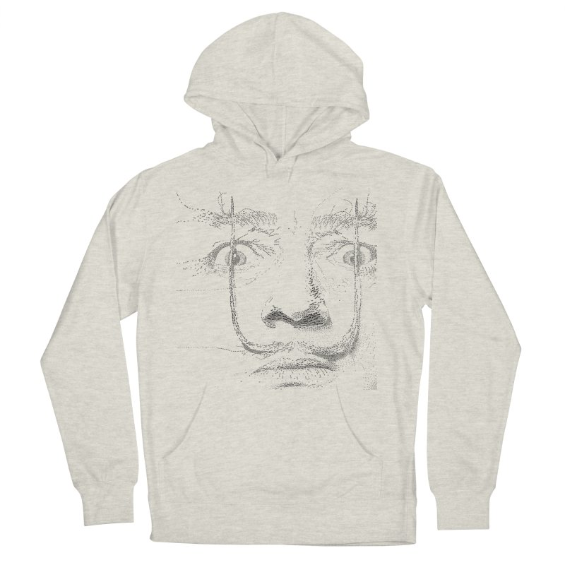 i am not mad! - salvador dali Women's French Terry Pullover Hoody by the twisted world of godriguezart
