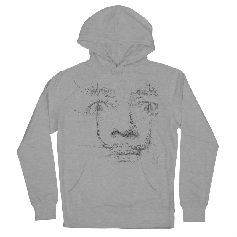 i am not mad! - salvador dali Men's French Terry Pullover Hoody by the twisted world of godriguezart