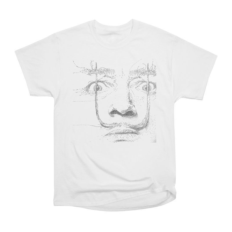 i am not mad! - salvador dali Men's Heavyweight T-Shirt by the twisted world of godriguezart