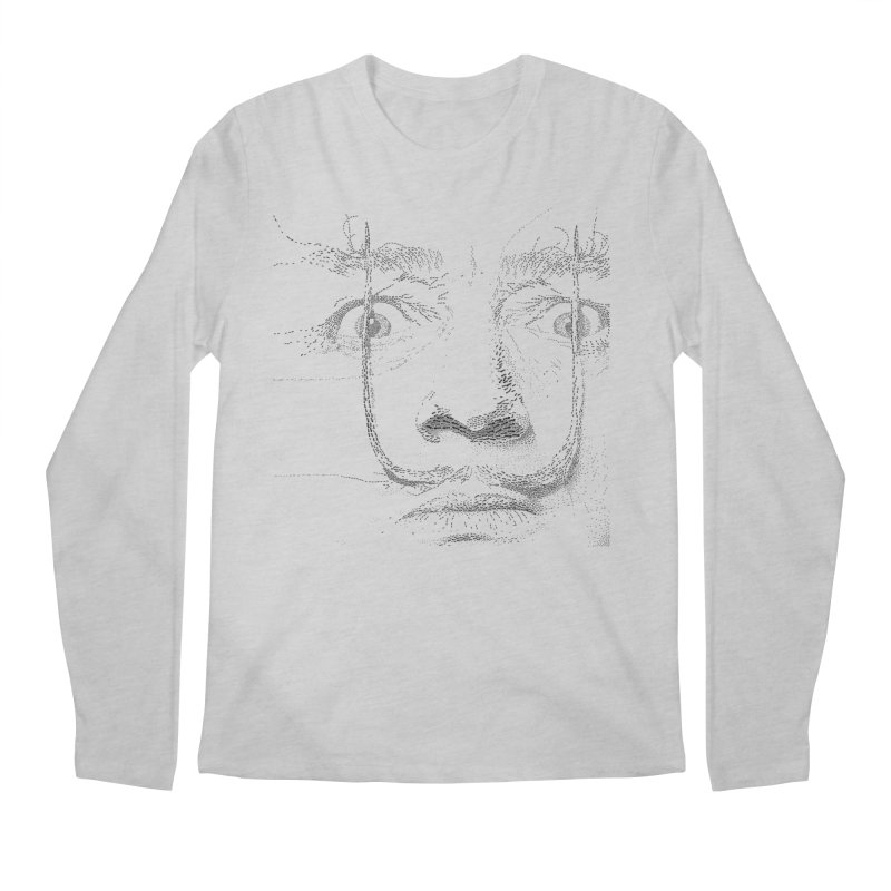 i am not mad! - salvador dali Men's Regular Longsleeve T-Shirt by the twisted world of godriguezart