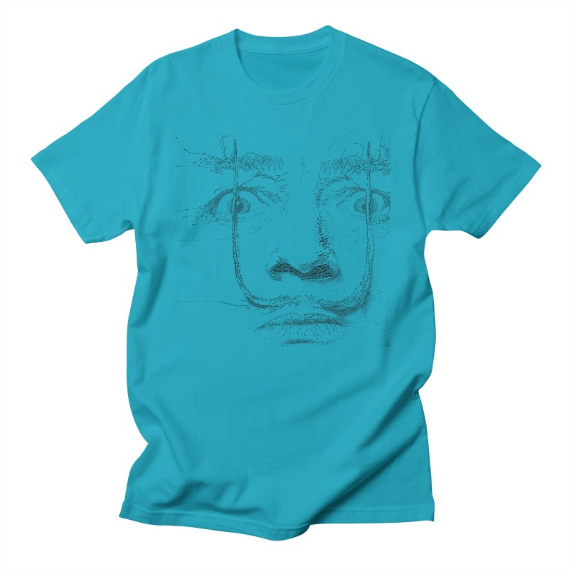 i am not mad! - salvador dali Men's Regular T-Shirt by the twisted world of godriguezart
