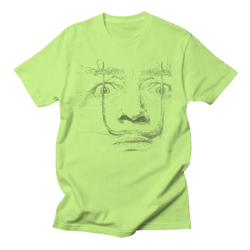 i am not mad! - salvador dali Men's T-Shirt by the twisted world of godriguezart