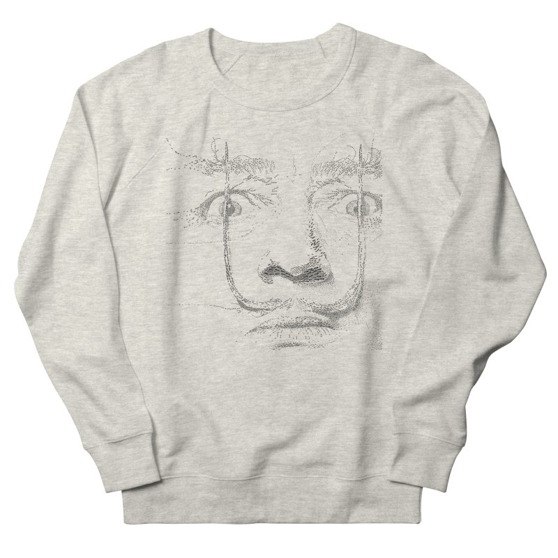 i am not mad! - salvador dali Women's French Terry Sweatshirt by the twisted world of godriguezart