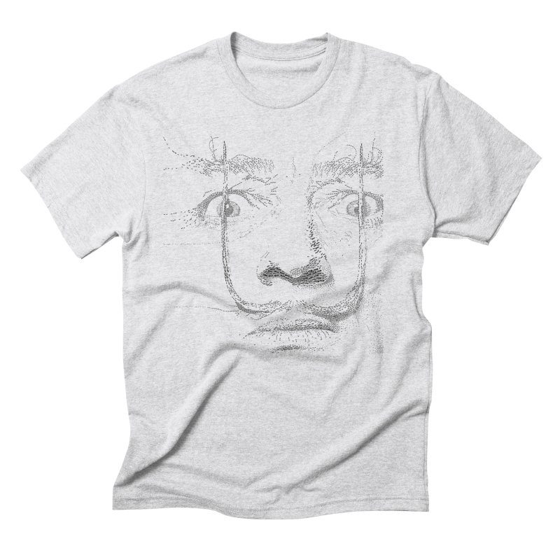 i am not mad! - salvador dali Men's Triblend T-Shirt by the twisted world of godriguezart
