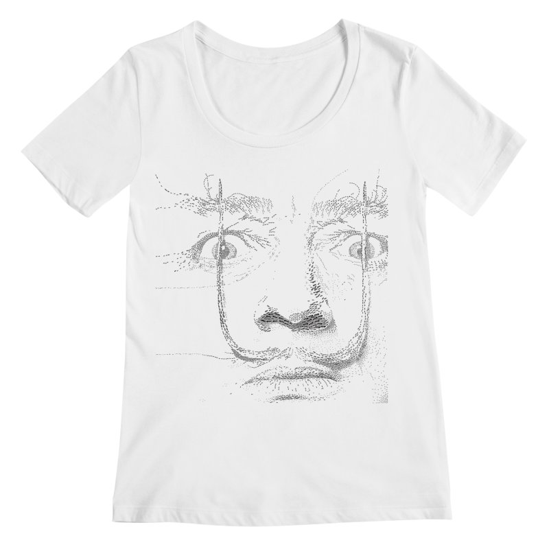 i am not mad! - salvador dali Women's Regular Scoop Neck by the twisted world of godriguezart