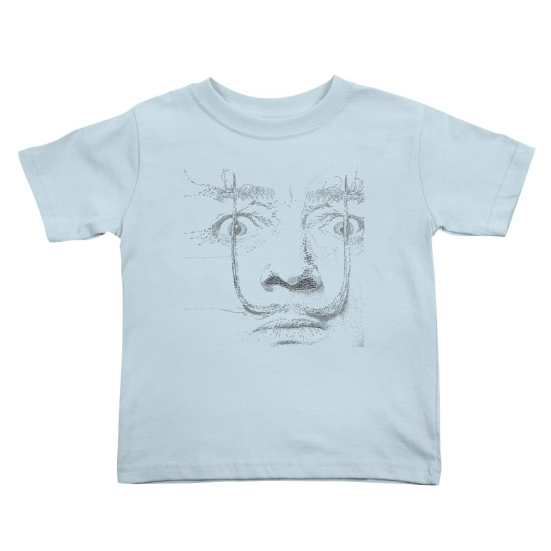 i am not mad! - salvador dali Kids Toddler T-Shirt by the twisted world of godriguezart
