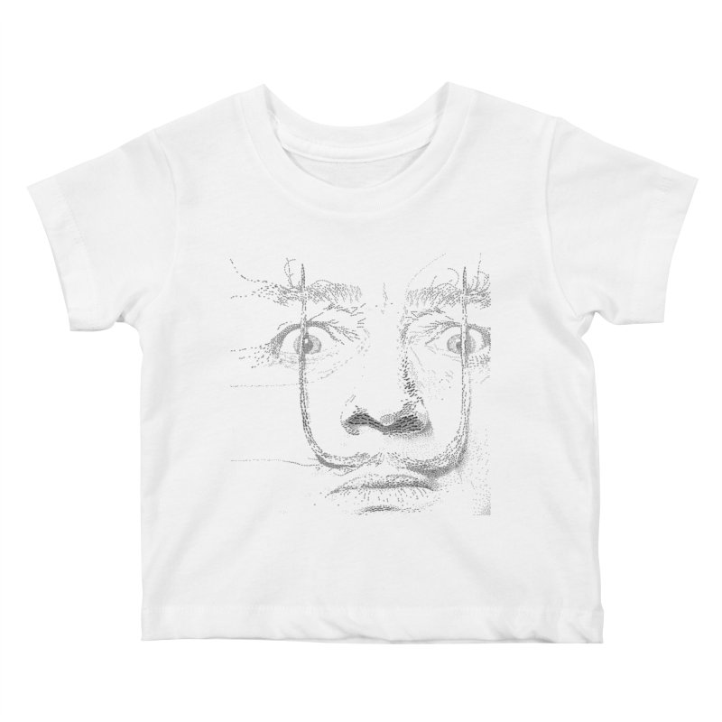 i am not mad! - salvador dali Kids Baby T-Shirt by the twisted world of godriguezart