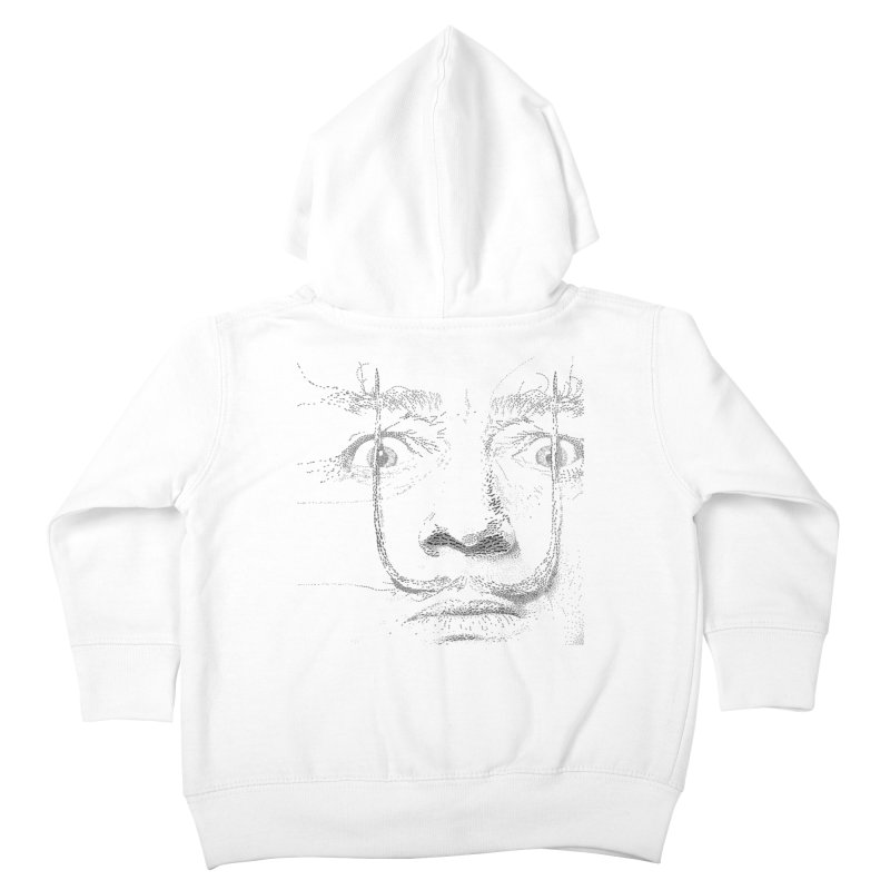 i am not mad! - salvador dali Kids Toddler Zip-Up Hoody by the twisted world of godriguezart