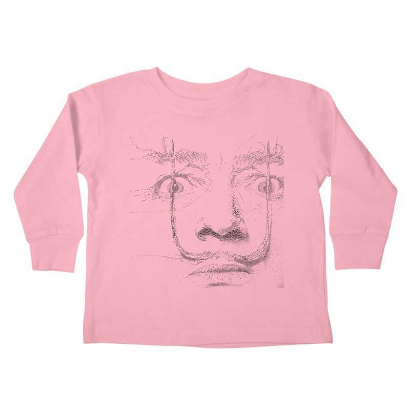 i am not mad! - salvador dali Kids Toddler Longsleeve T-Shirt by the twisted world of godriguezart