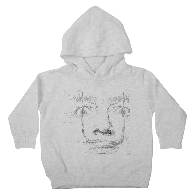 i am not mad! - salvador dali Kids Toddler Pullover Hoody by the twisted world of godriguezart