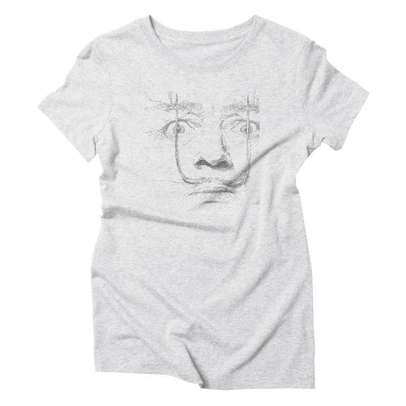 i am not mad! - salvador dali Women's Triblend T-Shirt by the twisted world of godriguezart