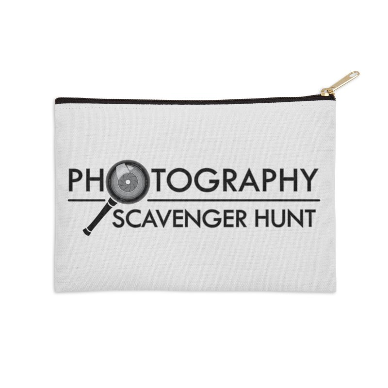 photography scavenger hunt Accessories Zip Pouch by the twisted world of godriguezart