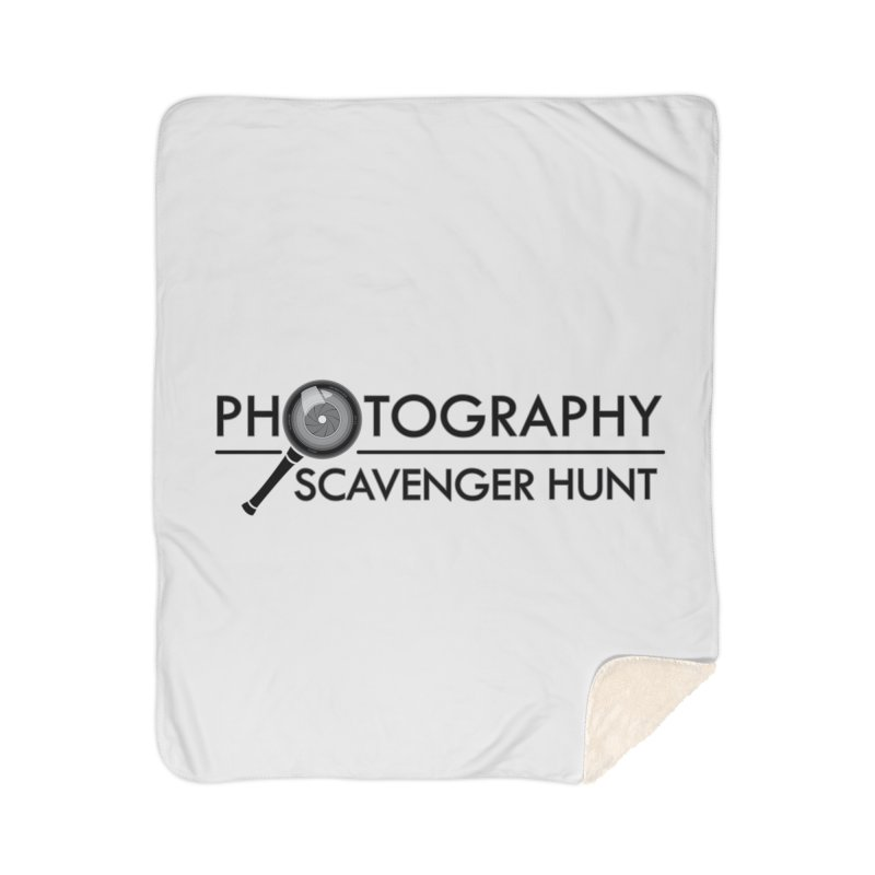 photography scavenger hunt Home Sherpa Blanket Blanket by the twisted world of godriguezart