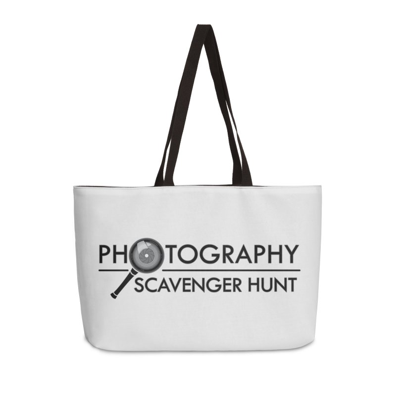 photography scavenger hunt Accessories Weekender Bag Bag by the twisted world of godriguezart