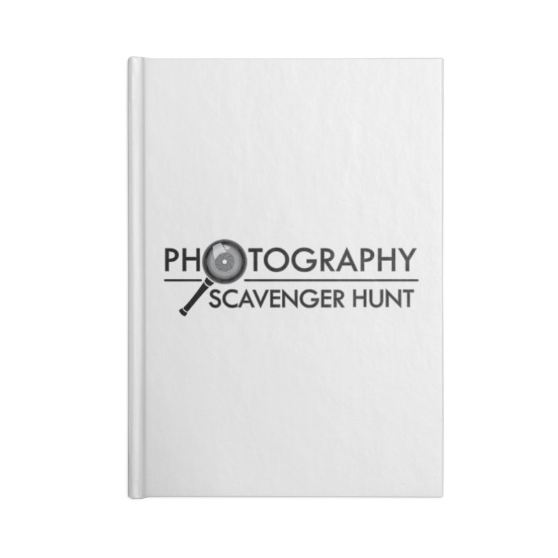 photography scavenger hunt Accessories Blank Journal Notebook by the twisted world of godriguezart