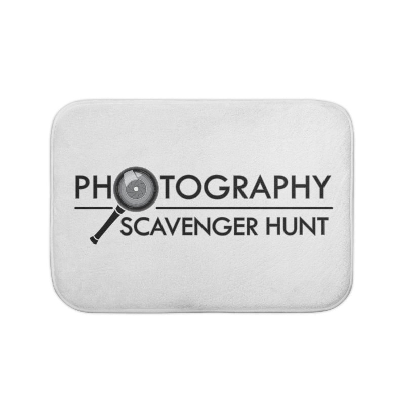 photography scavenger hunt Home Bath Mat by the twisted world of godriguezart