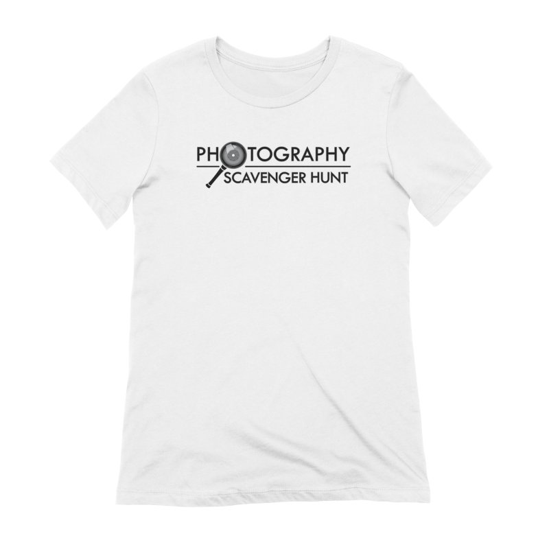 photography scavenger hunt Women's Extra Soft T-Shirt by the twisted world of godriguezart