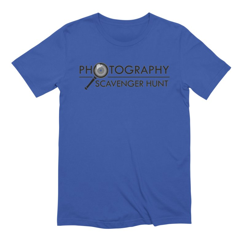 photography scavenger hunt Men's Extra Soft T-Shirt by the twisted world of godriguezart