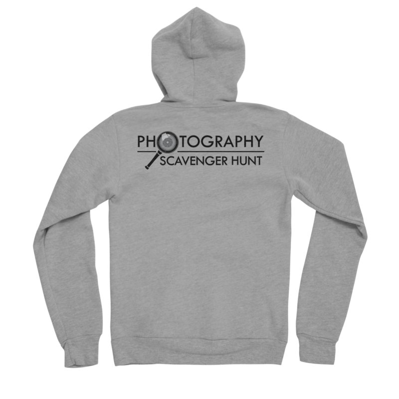 photography scavenger hunt Men's Sponge Fleece Zip-Up Hoody by the twisted world of godriguezart