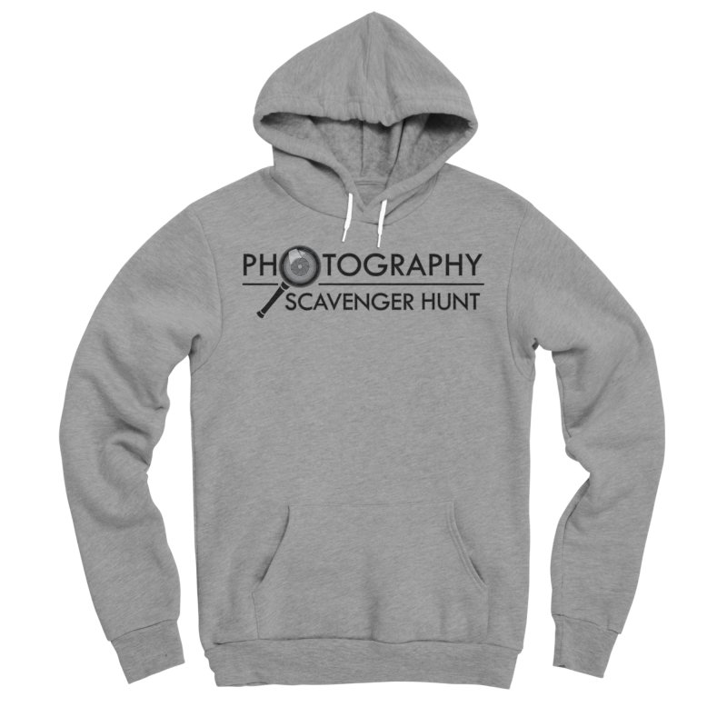 photography scavenger hunt Men's Sponge Fleece Pullover Hoody by the twisted world of godriguezart