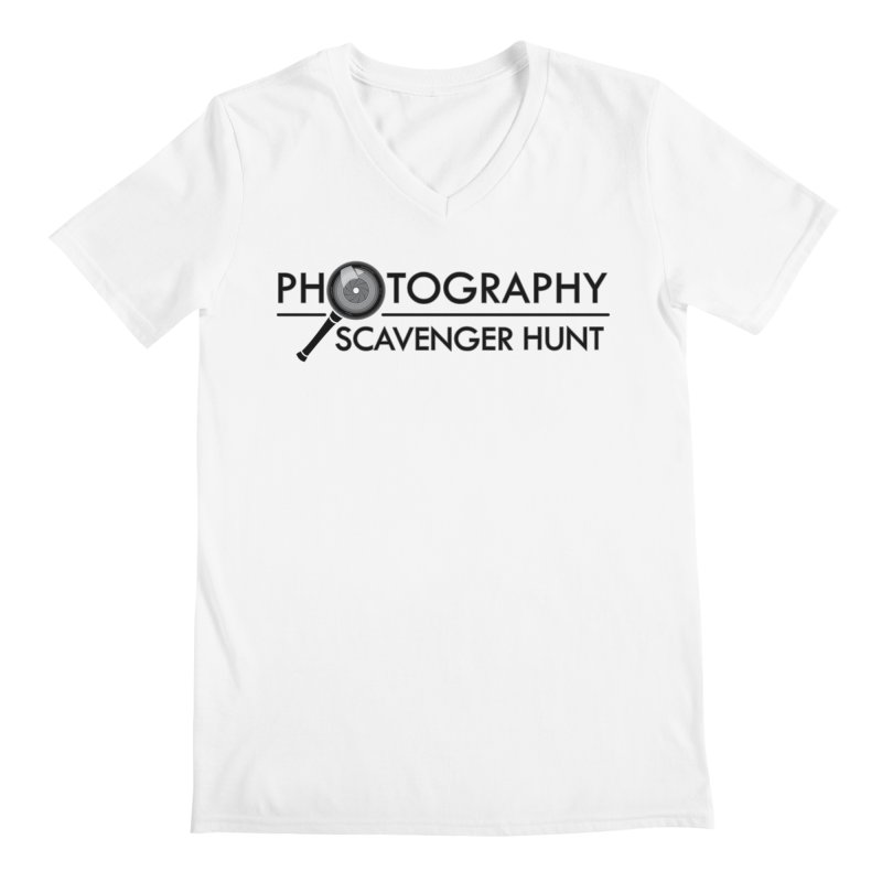 photography scavenger hunt Men's V-Neck by the twisted world of godriguezart