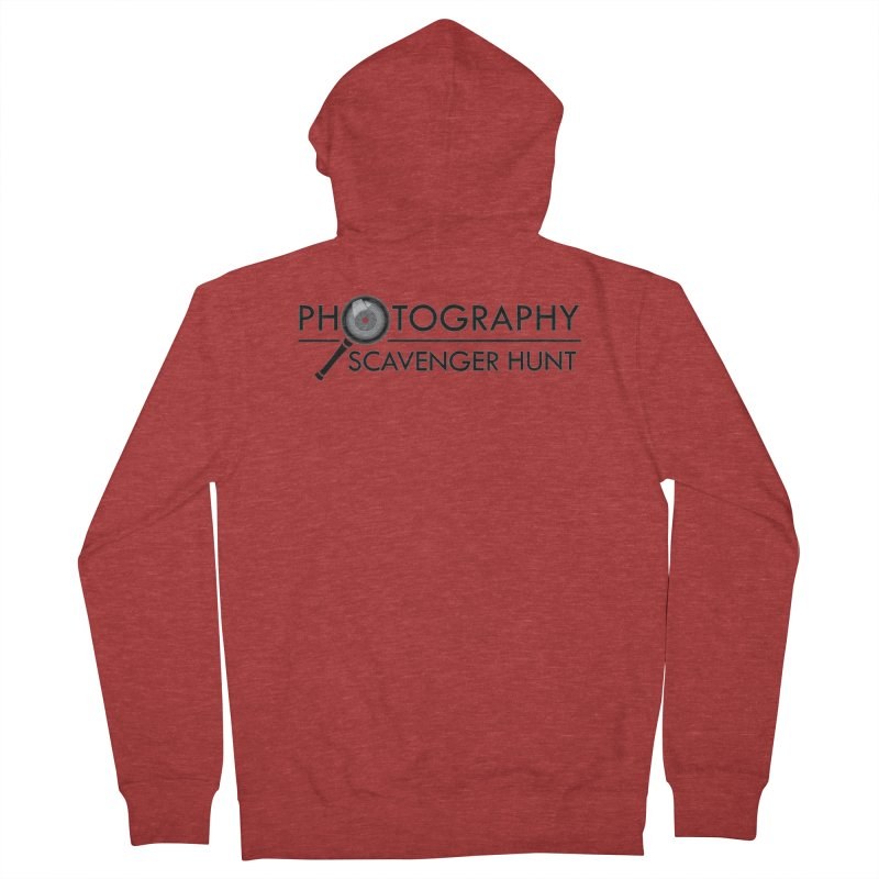 photography scavenger hunt Women's French Terry Zip-Up Hoody by the twisted world of godriguezart