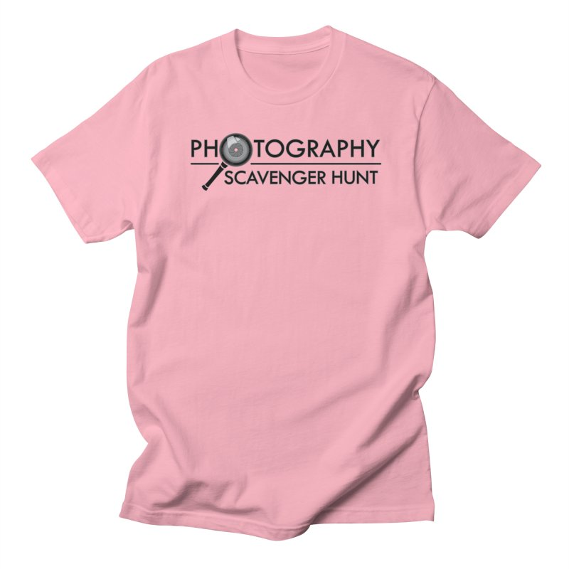 photography scavenger hunt Men's T-Shirt by the twisted world of godriguezart