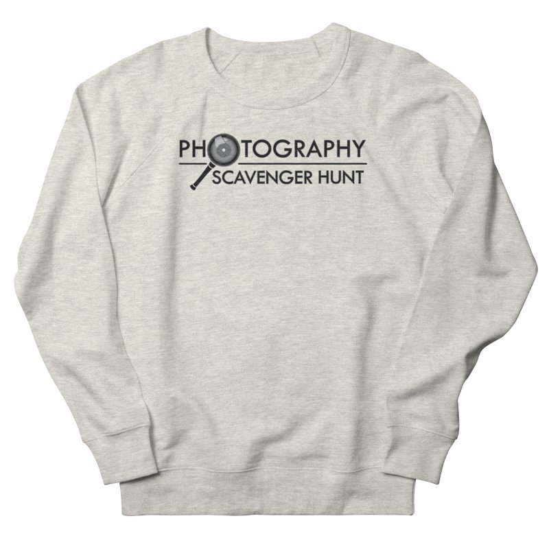 photography scavenger hunt Women's French Terry Sweatshirt by the twisted world of godriguezart