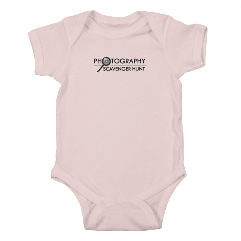 photography scavenger hunt Kids Baby Bodysuit by the twisted world of godriguezart