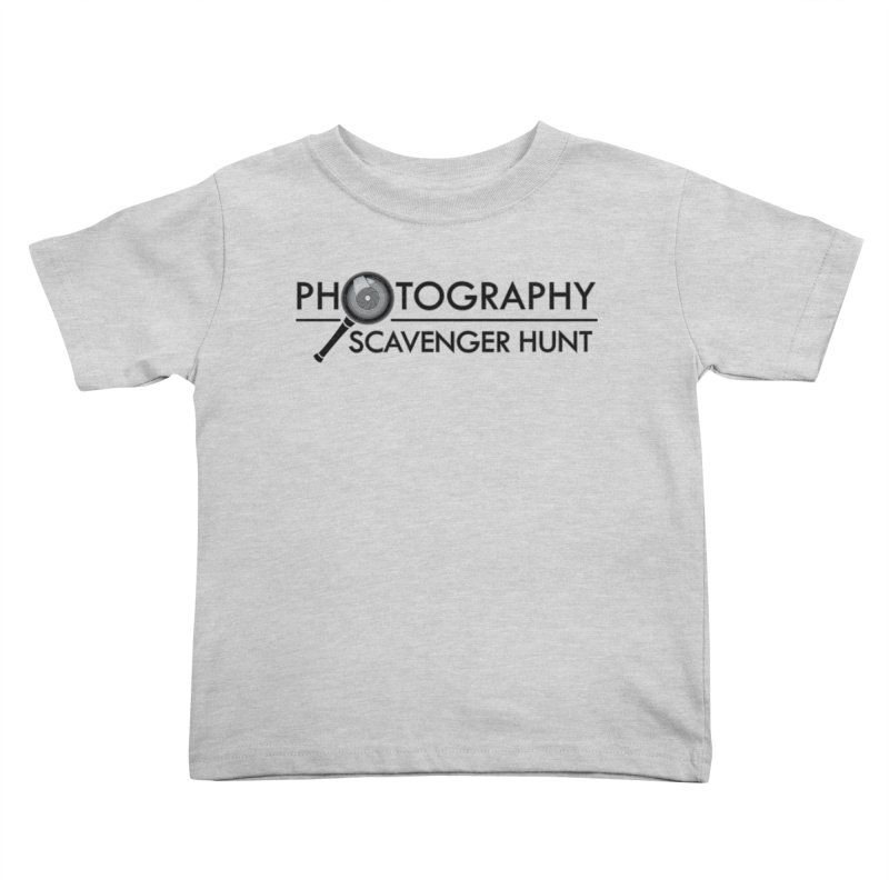 photography scavenger hunt Kids Toddler T-Shirt by the twisted world of godriguezart