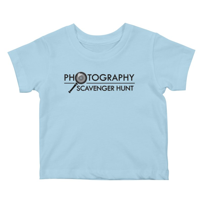 photography scavenger hunt Kids Baby T-Shirt by the twisted world of godriguezart