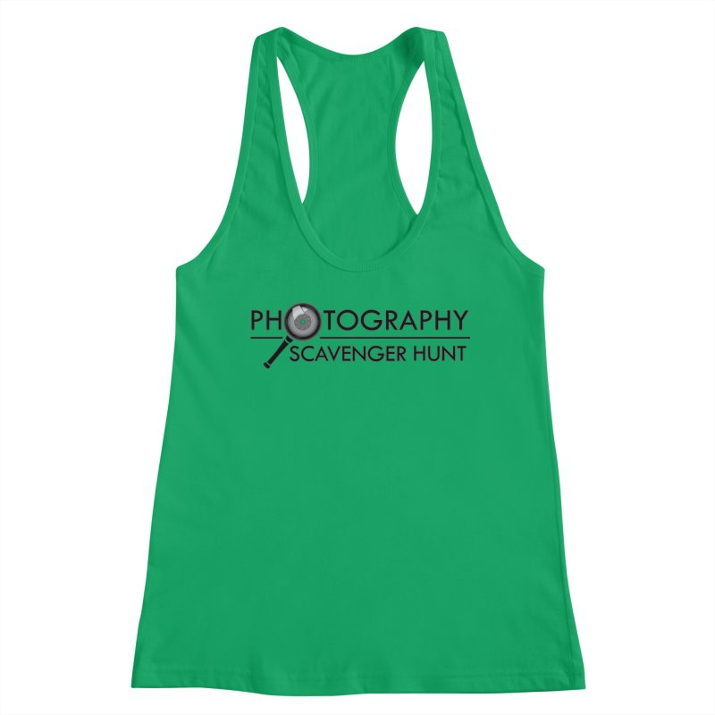 photography scavenger hunt Women's Tank by the twisted world of godriguezart