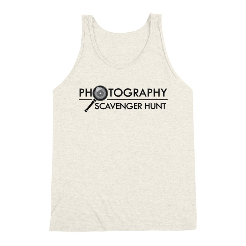 photography scavenger hunt Men's Triblend Tank by the twisted world of godriguezart