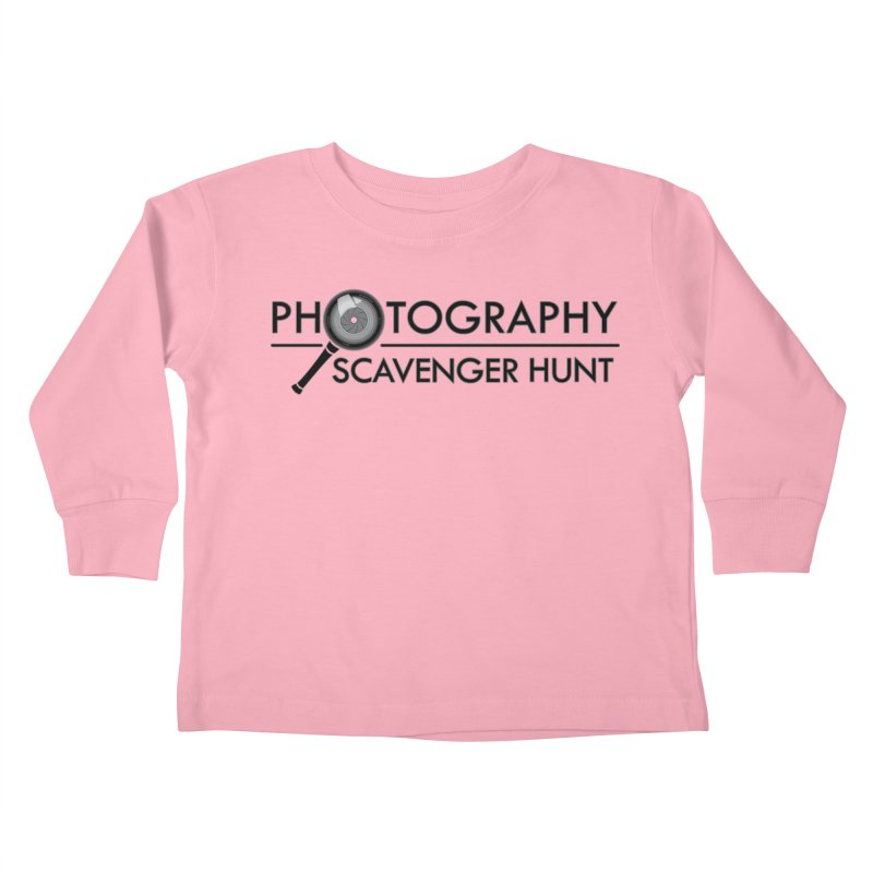 photography scavenger hunt Kids Toddler Longsleeve T-Shirt by the twisted world of godriguezart