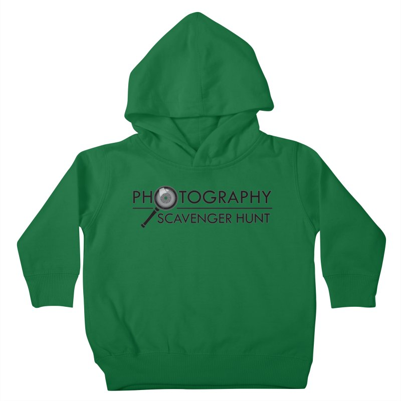 photography scavenger hunt Kids Toddler Pullover Hoody by the twisted world of godriguezart