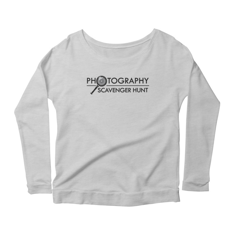 photography scavenger hunt Women's Scoop Neck Longsleeve T-Shirt by the twisted world of godriguezart