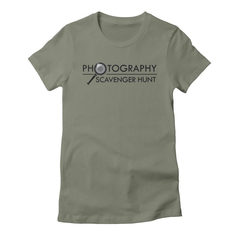 photography scavenger hunt Women's Fitted T-Shirt by the twisted world of godriguezart